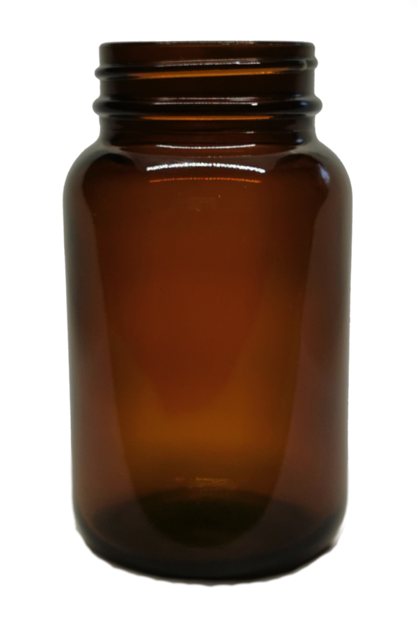 72 wide neck bottles 250ml in amber glass - wide neck glass, screw top jars